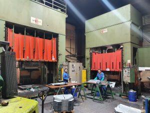 Parc machine Socerp Atelier de pressage